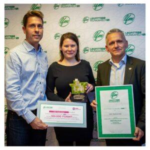 ALegfittebb Munkahelyek 2019 díj Nyertese - Nagyvállalat kategóriában: DXC Technology Hungary